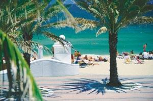 пляж форт лодердейла